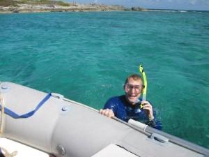 ...or snorkeling.